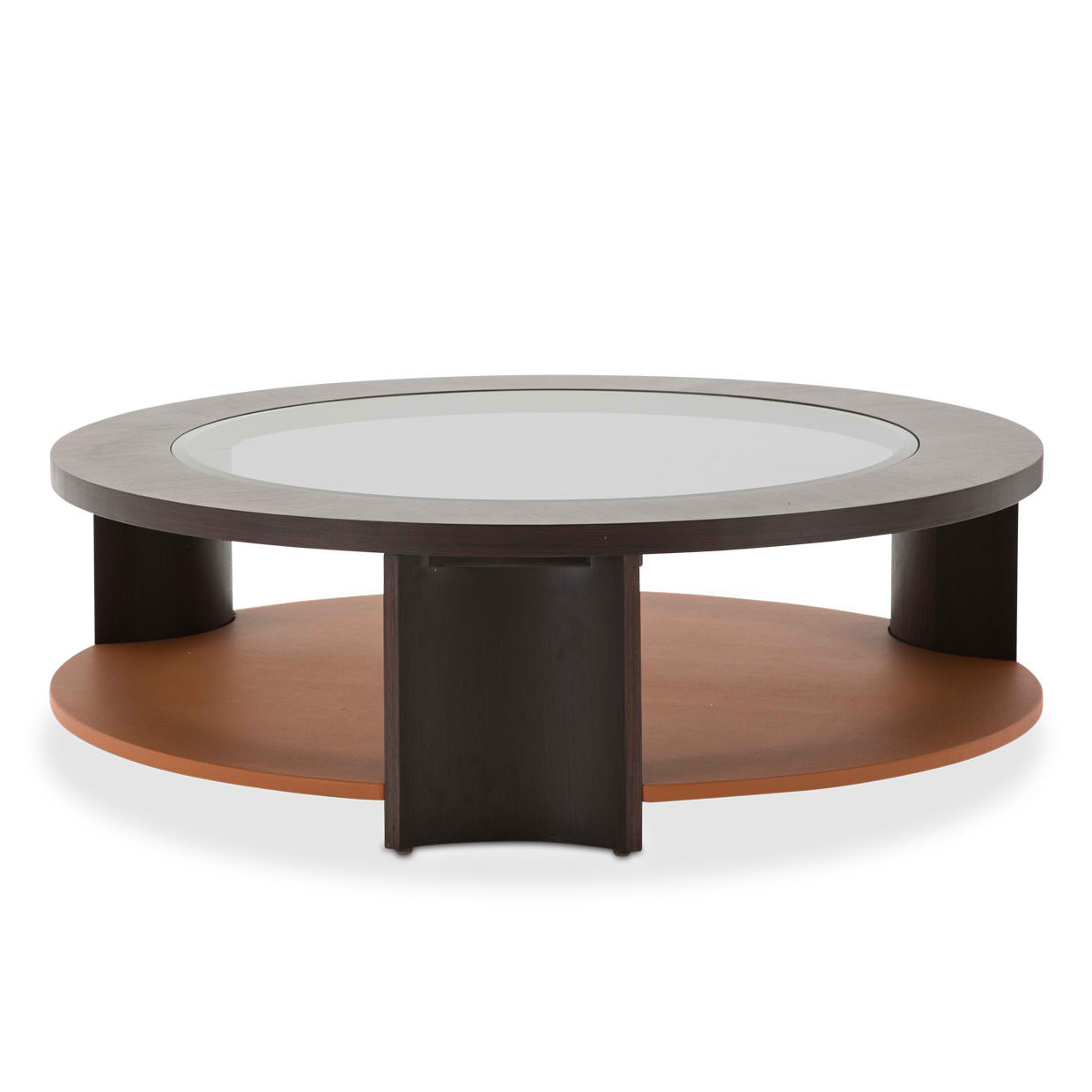 21 Cosmopolitan Round Cocktail Table Diablo Orange Umber Living Story