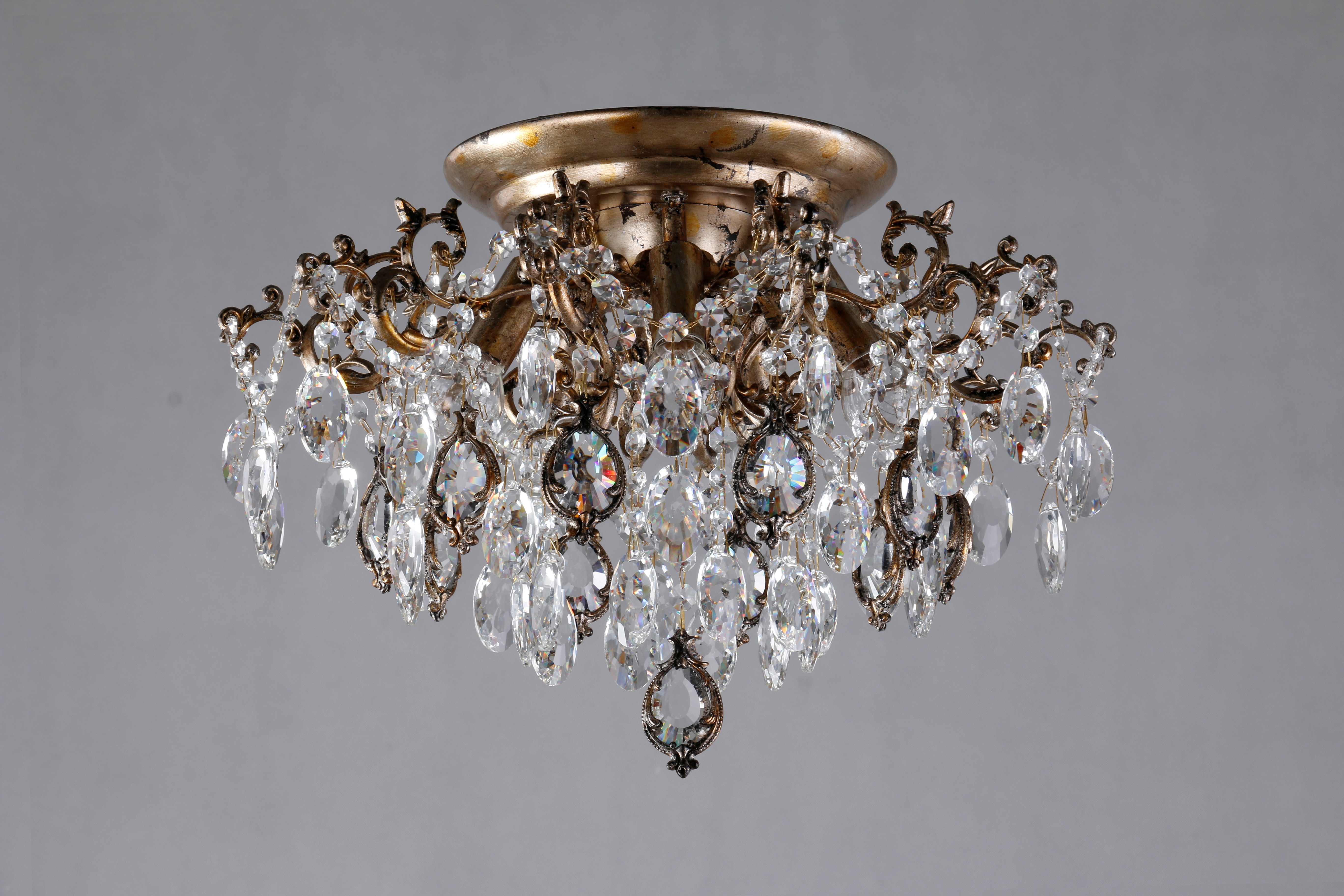 chrome hedgehog ch products crystal chandelier impex shack ceiling light